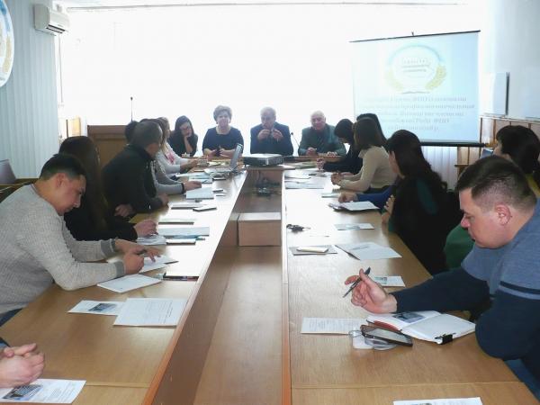 Зустріч Голови ФПО М.Колесника з головами студентських профкомів